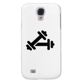 Entrenamiento de la pesa de gimnasia del Barbell Funda Para Galaxy S4