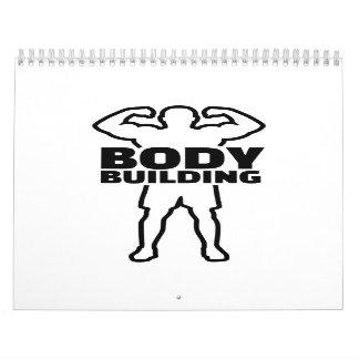 Entrenamiento del Bodybuilding Calendarios
