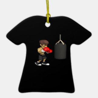 Entrenamiento del boxeador ornamento de reyes magos