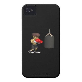 Entrenamiento del boxeador Case-Mate iPhone 4 cobertura