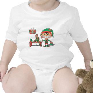 Entrenamiento del duende trajes de bebé