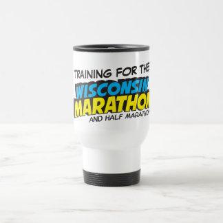 Entrenamiento del maratón de Wisconsin Taza De Viaje