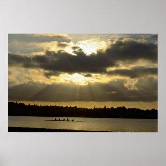 Entrenamiento del Rowing antes de los sistemas de Impresiones