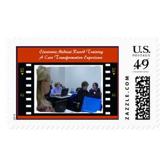Entrenamiento electrónico del informe médico sellos