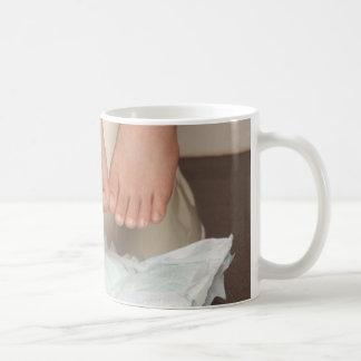 Entrenamiento insignificante tazas de café
