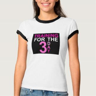 Entrenamiento para el día 3 camisas