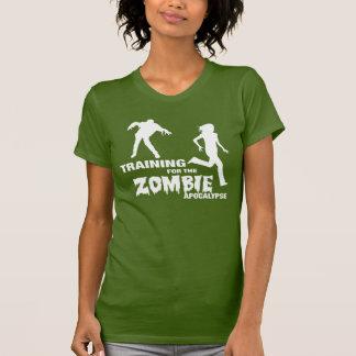 Entrenamiento para la camiseta de la apocalipsis polera