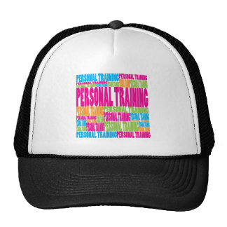 Entrenamiento personal colorido gorras de camionero