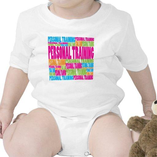 Entrenamiento personal colorido traje de bebé