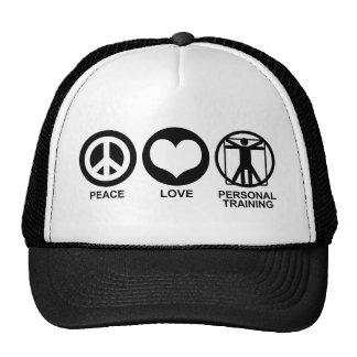 Entrenamiento personal gorras de camionero