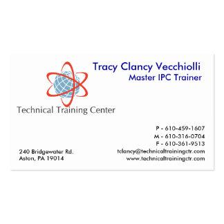 Entrenamiento técnico Center1.14 Tarjetas De Visita