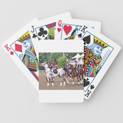Entrenamientos de Charles LoPresti en Saratoga Baraja Cartas De Poker