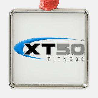 Entrenamientos en línea de la aptitud XT50 Adorno Navideño Cuadrado De Metal