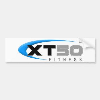 Entrenamientos en línea de la aptitud XT50 Pegatina Para Auto