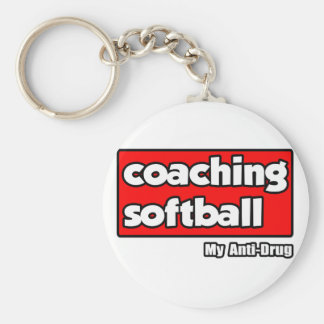 Entrenando softball… mi antinarcótico llaveros