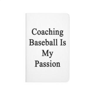 Entrenar béisbol es mi pasión