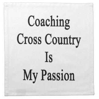 Entrenar el campo a través es mi pasión