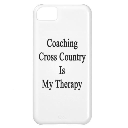 Entrenar el campo a través es mi terapia