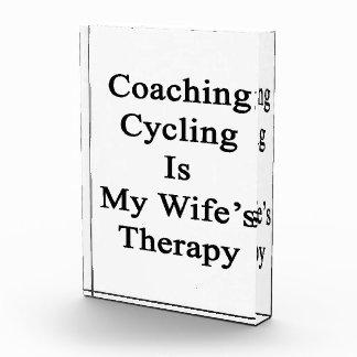 Entrenar el ciclo es la terapia de mi esposa
