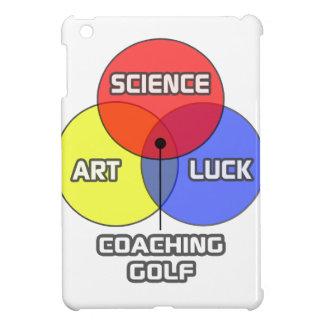 Entrenar golf. Suerte del arte de la ciencia
