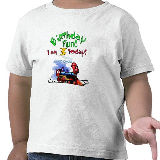 Entrene a las 3ro camisetas y regalos del cumpleañ