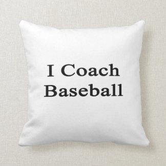 Entreno béisbol almohadas