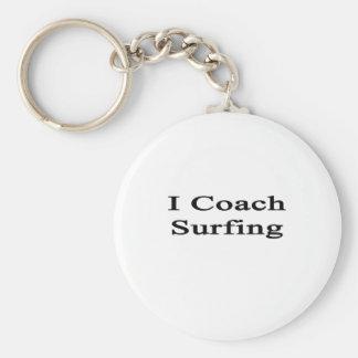 Entreno practicar surf llaveros personalizados