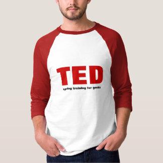 Entreno primaveral de TED para los frikis Playera