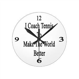 Entreno tenis para hacer el mundo mejor