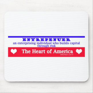 entrepeneur usa's heart the risk takers mouse pad