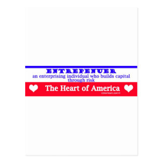 entrepeneur usa's heart the risk takers post cards
