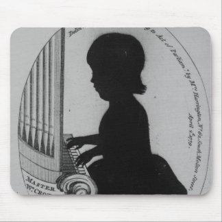 Entrepierna de Guillermo que juega el órgano Tapete De Ratones