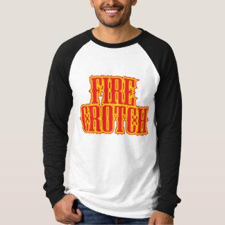 Entrepierna del fuego - raglán camisas