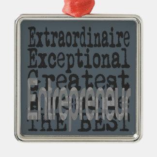 Entrepreneur Extraordinaire Metal Ornament