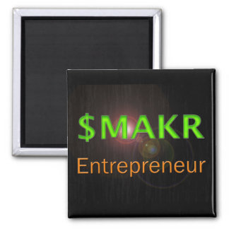 Entrepreneur Money Maker Magnet