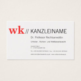 Entrepreneur with styles business card