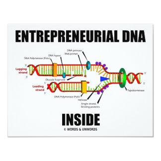 Entrepreneurial DNA Inside Card