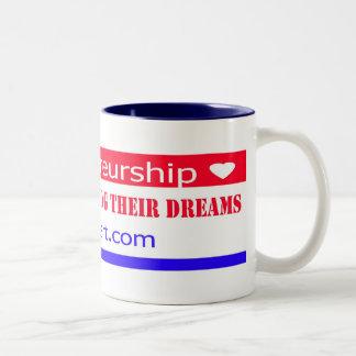 Entrepreneurs Free People Dreams Coffee Mug