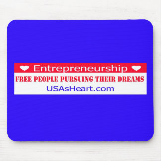 Entrepreneurs Free People Dreams Mouse Pad