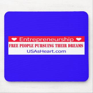 Entrepreneurs Free People Dreams Mouse Pad