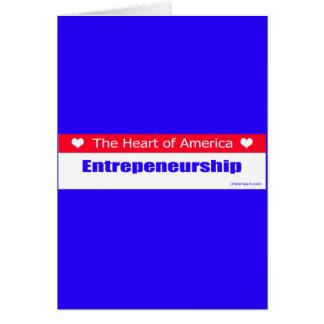 Entrepreneurs - The Heart of America Card