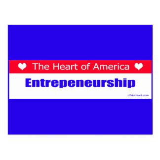 Entrepreneurs - The Heart of America Postcard