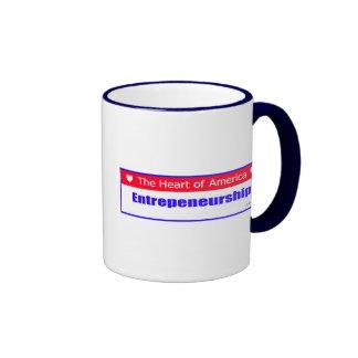 Entrepreneurs - The Heart of America Ringer Mug
