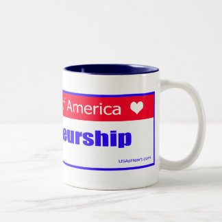 Entrepreneurs - The Heart of America Two-Tone Coffee Mug