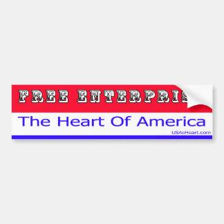 Entrepreneurship - The Heart of America Bumper Sticker