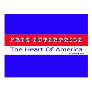 Entrepreneurship - The Heart of America Postcard