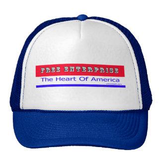 Entrepreneurship - The Heart of America Trucker Hat