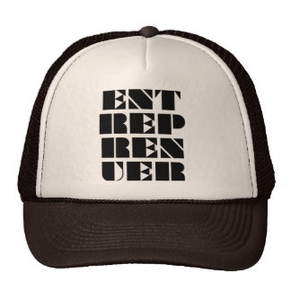 Entreprenuer Brown Hat