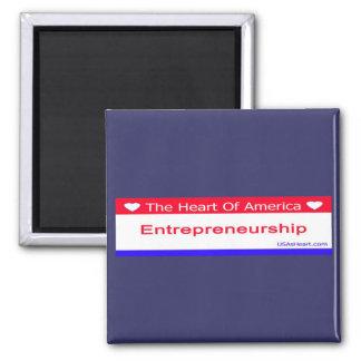 entreprenuershiip, entrepreneur, freedom, usa, 2 inch square magnet