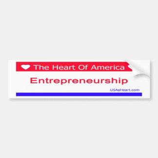 entreprenuership, entrepreneur, freedom, usa bumper sticker